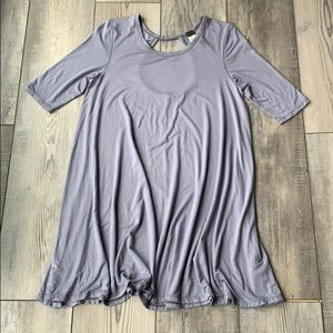 Free People We The Free open back tunic shirt